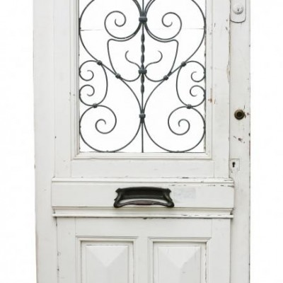 19th Century Antique French Front Door