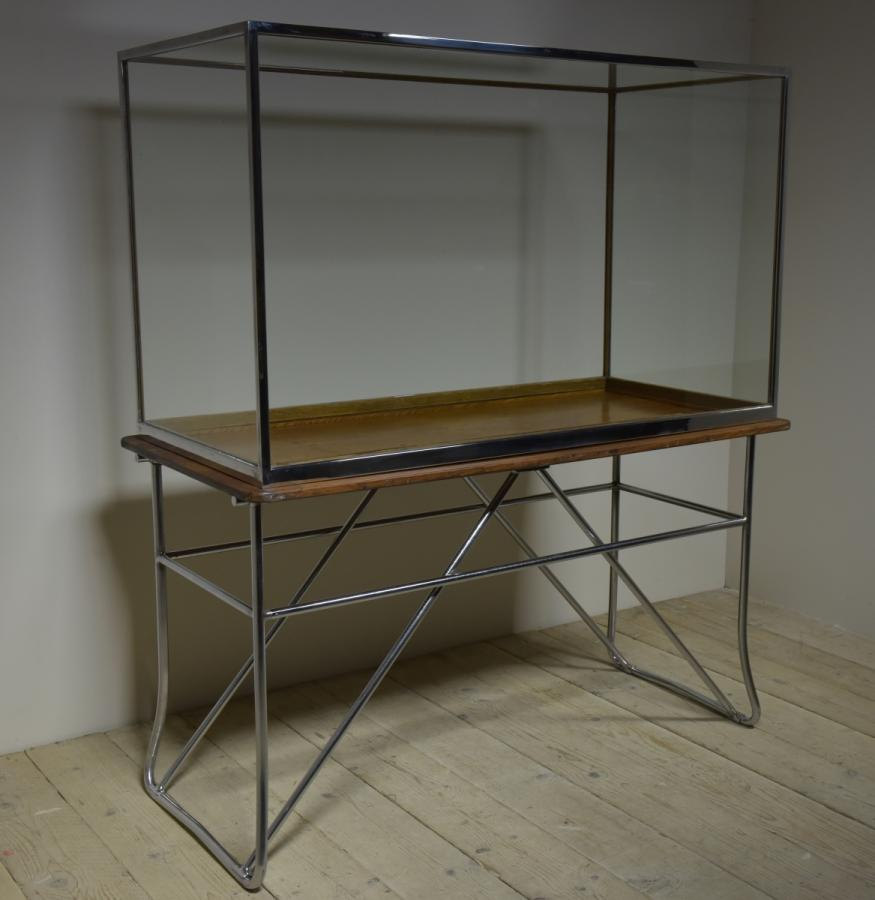 harris & sheldon museum display cabinet 1930s