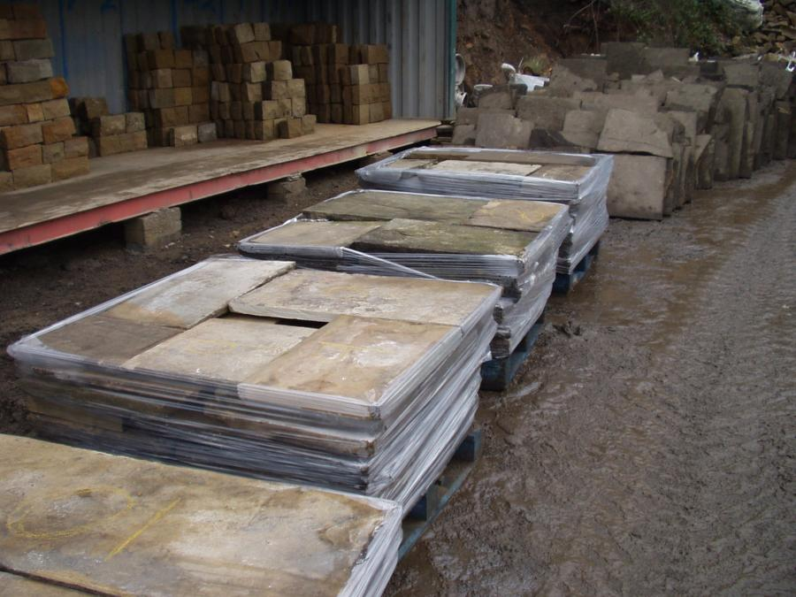 Reclaimed Yorkshire Stone Flags - Grade A - Abacus Stone Sales