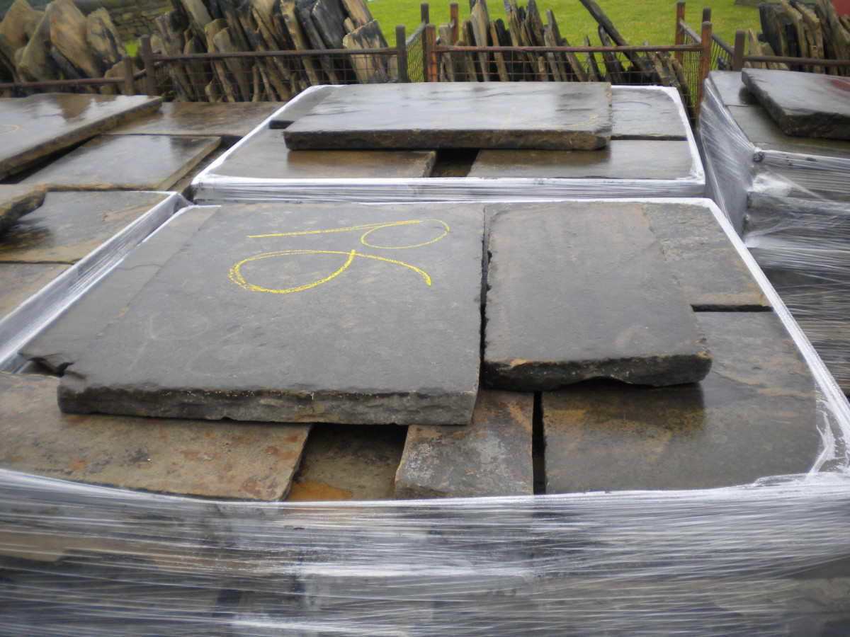 Reclaimed York-stone Paving Abacus Stone Sales