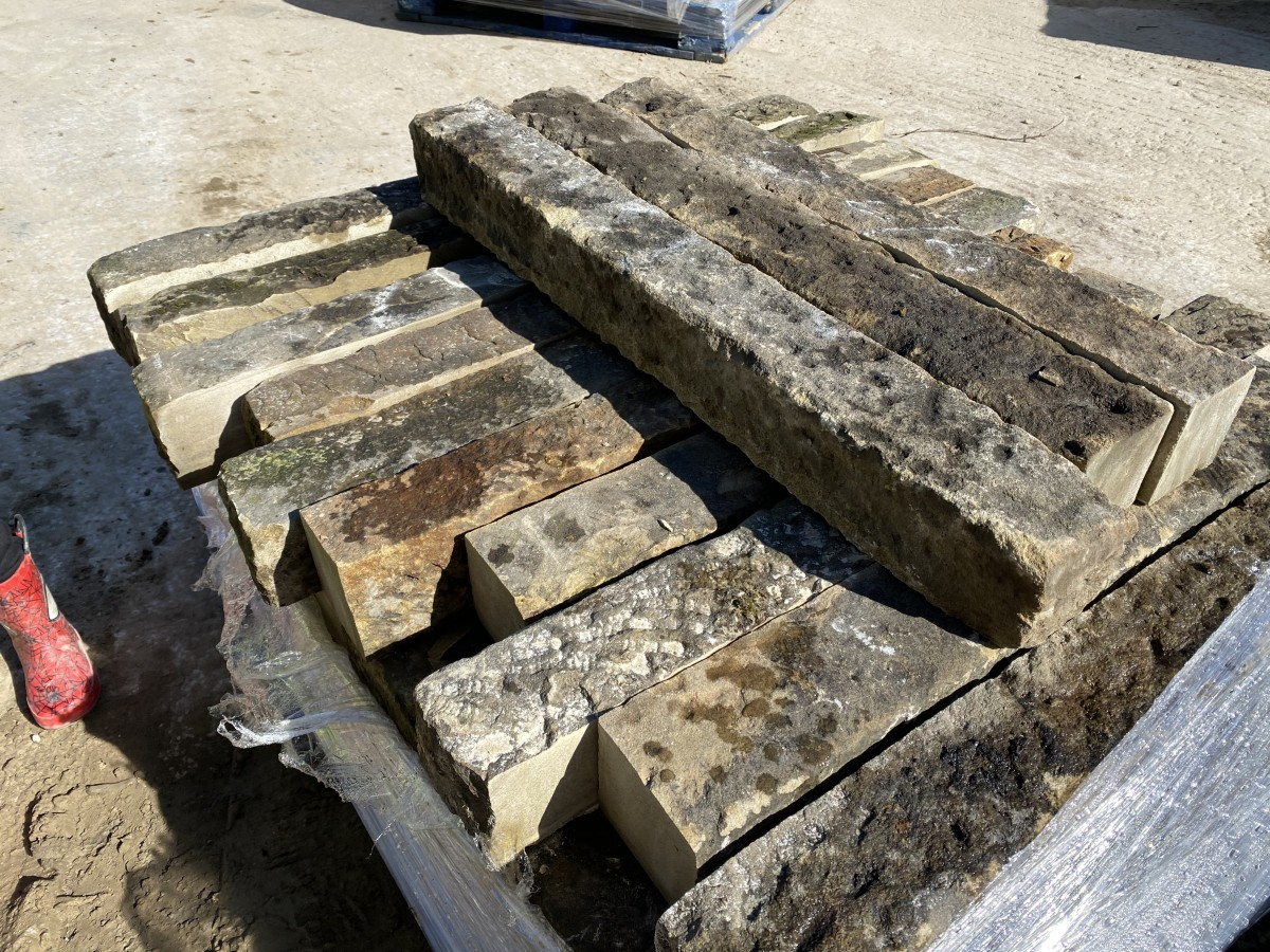 Reclaimed Yorkshire Stone Kerbs ,Abacus Stone Sales