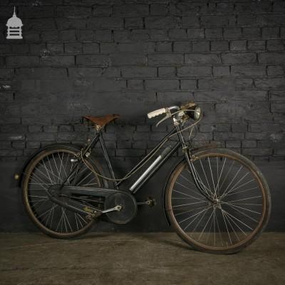 Unrestored Vintage Ladies Raleigh Bicycle