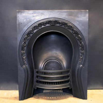 Antique Victorian Fireplace Insert