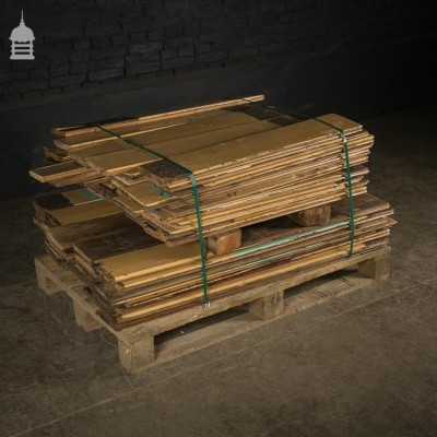 Reclaimed Painted Pine Match Boarding 6.5 inches Wide
