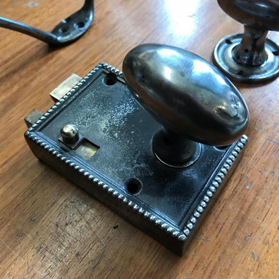 Reclaimed Brass Door Lock