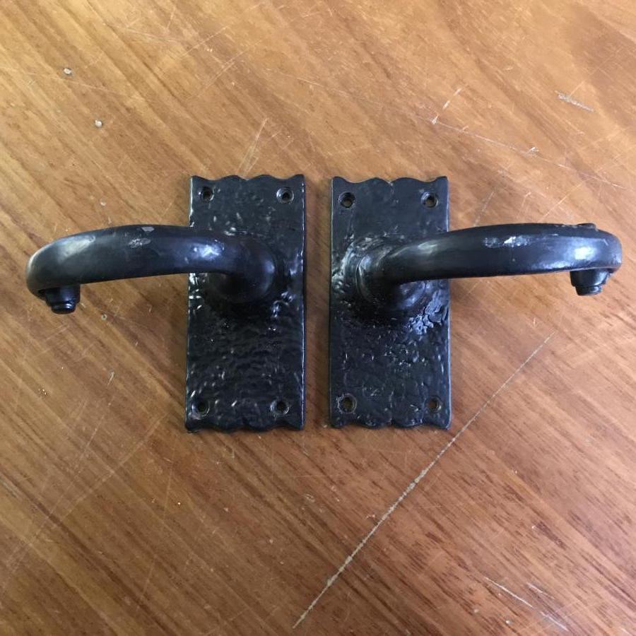 Reclaimed Cast Iron Door Handles