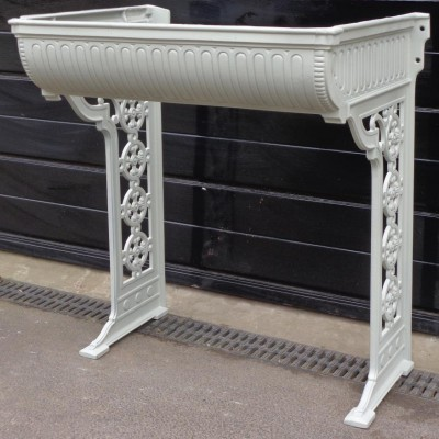 Victorian cast iron basin cradle/ stand.
