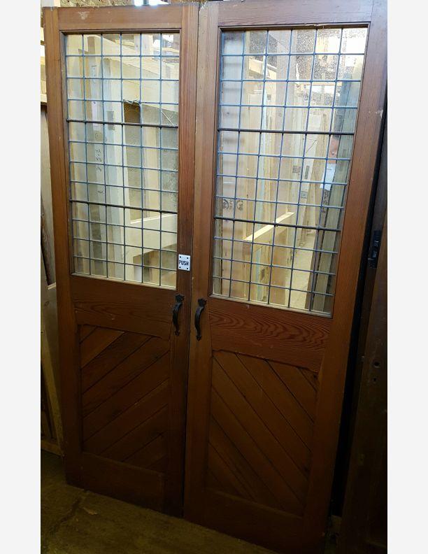 Vestibule Church style Victorian 1/2 glazed doors & For Sale Vestibule Church style Victorian 1/2 glazed doors- SalvoWEB UK