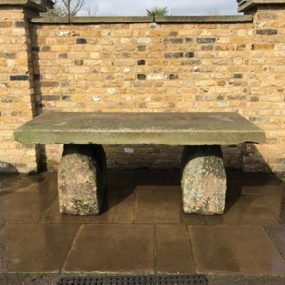 Reclaimed Gravestone Table
