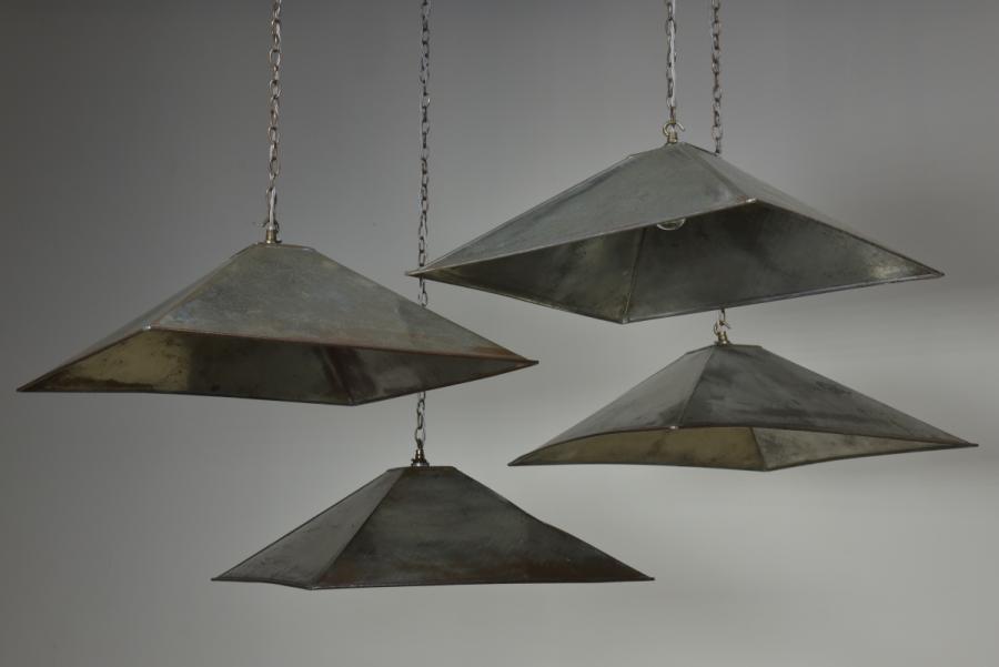 pyramidal tin shades