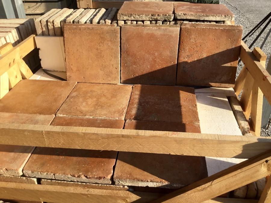 For Sale Antique Terracotta Floor Tile Salvoweb Italy