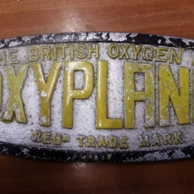 Reclaimed 'Oxyplane' Plate