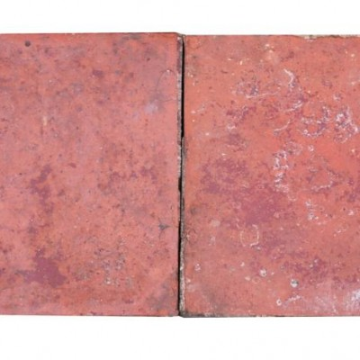 "9m2 Reclaimed 8"" Red Quarry Tiles"