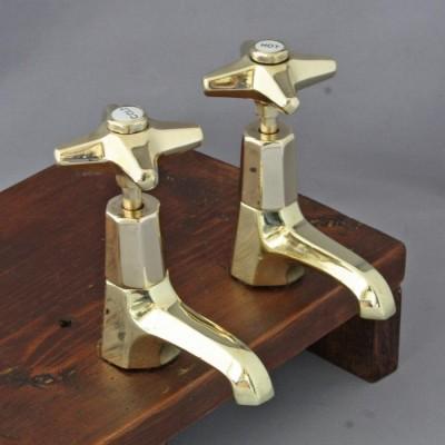 Art Deco Basin Taps