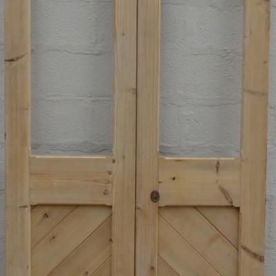 Victorian double doors.
