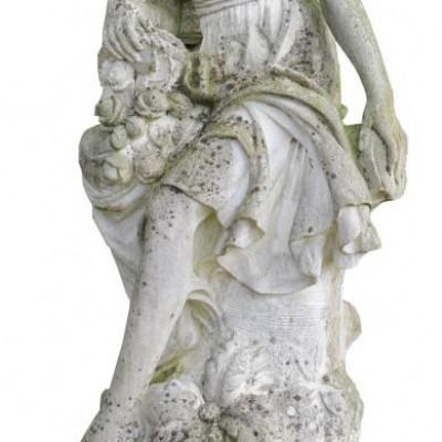 English 20th Century Reconstituted Stone Statue