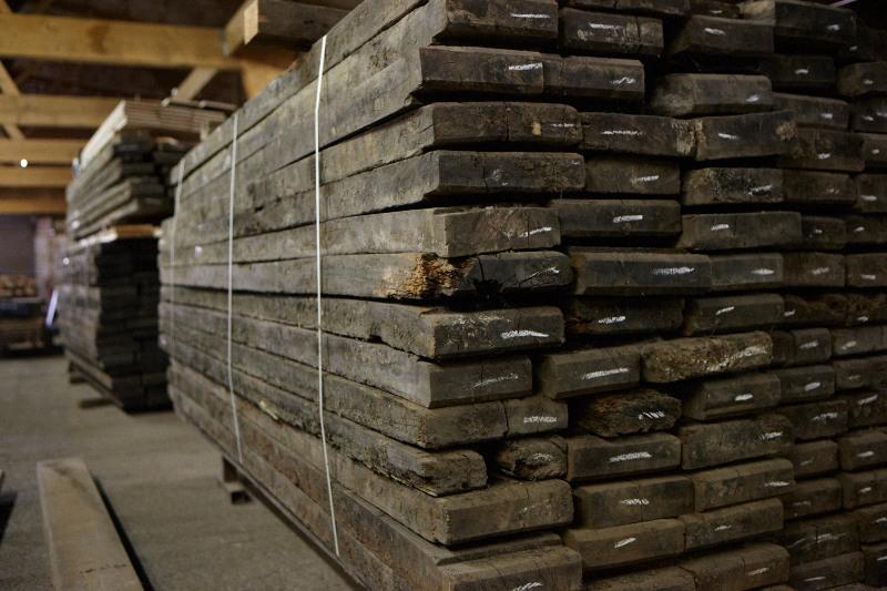 Reclaimed Wide, Long Oak Flooring