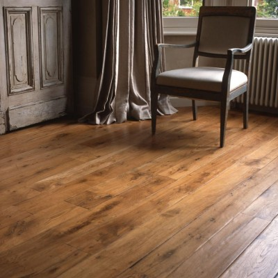 Reclaimed Wide, Long Oak Flooring
