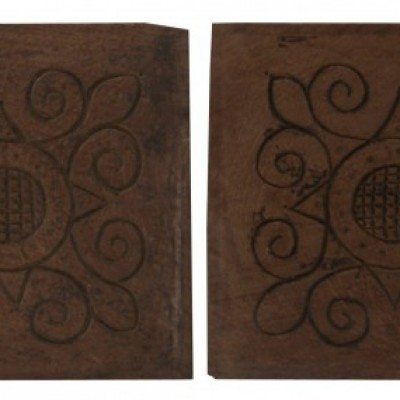 Pair Of 17th Century Carved Oak Panels