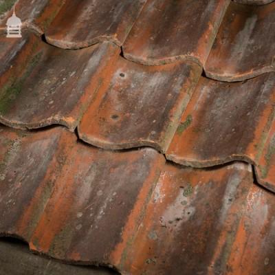 Reclaimed Machine Made Red Clay Pan Tiles Pantiles