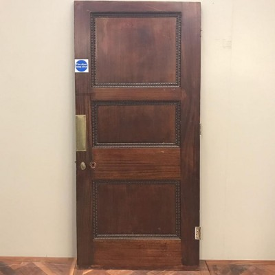 Victorian Three Panel Door - 210cm x 93.5cm x 4.5cm