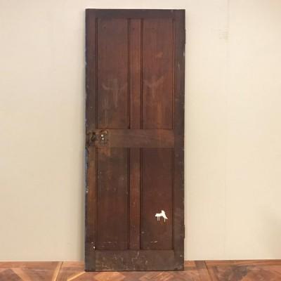 Teak Four Panel Door - 196cm x 68.5cm x 3.5cm