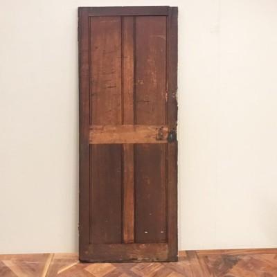 Teak Four Panel Door - 195cm x 68cm x 3.5cm