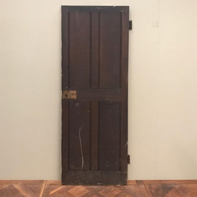 Teak Four Panel Door - 197cm x 68cm x 3.5cm