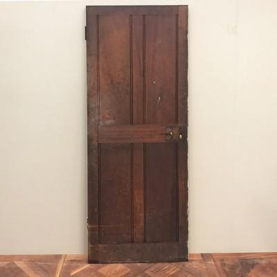 Teak Four Panel Door - 196cm x 68cm x 3.5cm