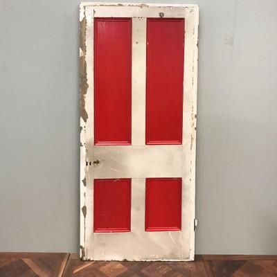 Victorian Four Panel Door - 204cm x 86cm x 3.5cm