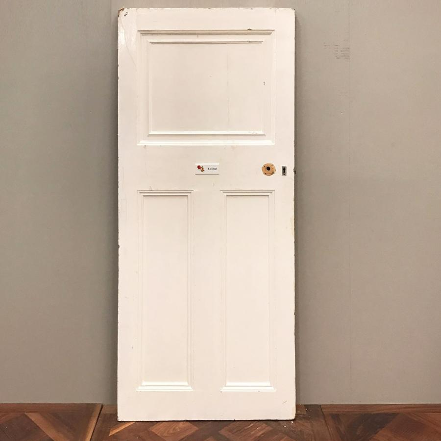 Edwardian Three Panel Door - 200cm x 80cm x 4.5cm