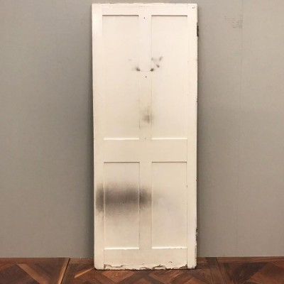 Reclaimed Victorian Four Panel Door - 192cm x 68.5cm x 3cm