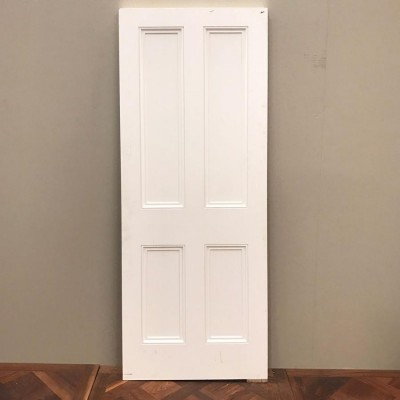 Victorian Four Panel Door - 204cm x 76cm x 4.5cm