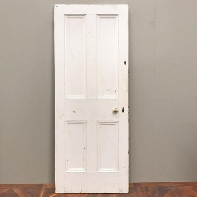 Victorian Four Panel Door - 196.5cm x 75cm x 4cm