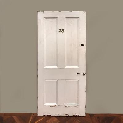 Victorian Four Panel Door - 202cm x 81cm