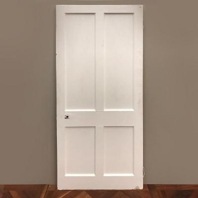 Victorian Four Panel Door - 200cm x 81cm