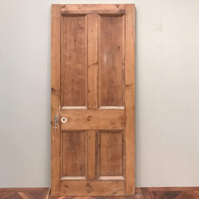 Victorian Four Panel Door - 203.5cm x 85cm