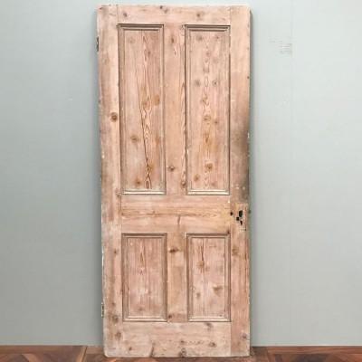Victorian Four Panel Door - 201cm x 80.5cm x 3.5cm