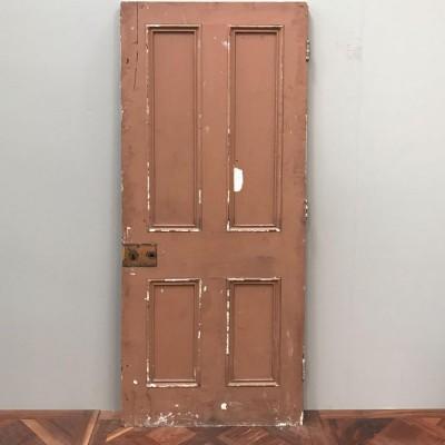 Victorian Four Panel Door - 200cm x 80.5cm x 5cm