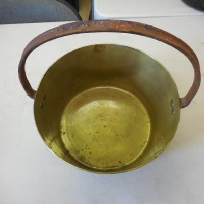 original brass jam pan