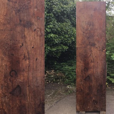 Reclaimed Solid Teak Worktop 242cm x 68.5cm