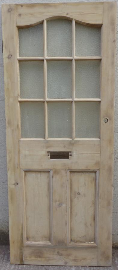 For Sale 1930s Pine Front Door Salvoweb Uk