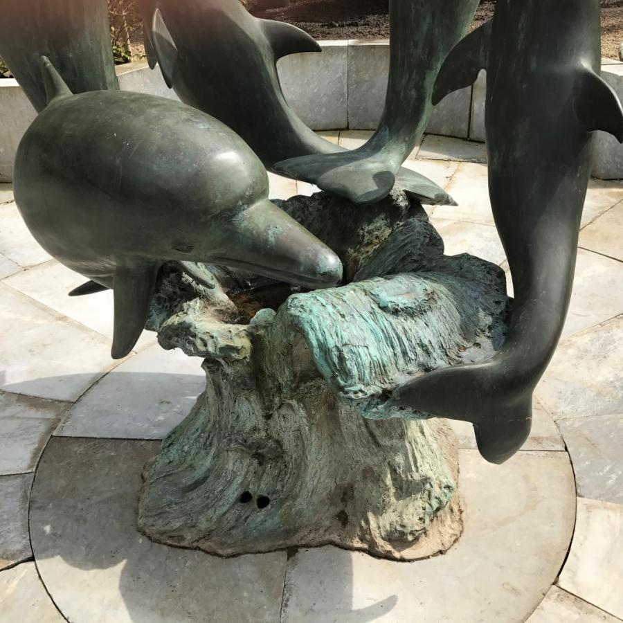 Family of Dolphins Fountain