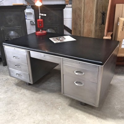 Antique Metalwork Vintage Style Desk