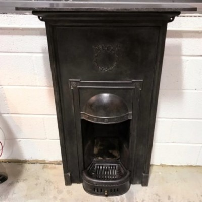 Victorian Cast Iron Fireplaces - Set of 4