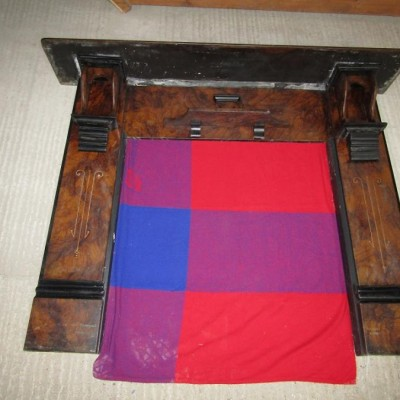 Enamelled (painted) Slate Fire Surround