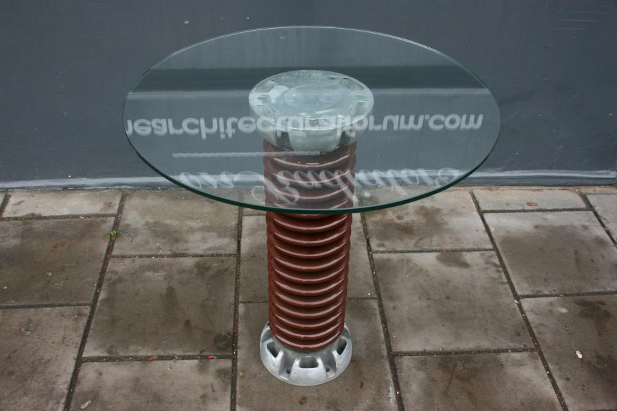 For Sale Ceramic Electrical Insulator Table- SalvoWEB UK