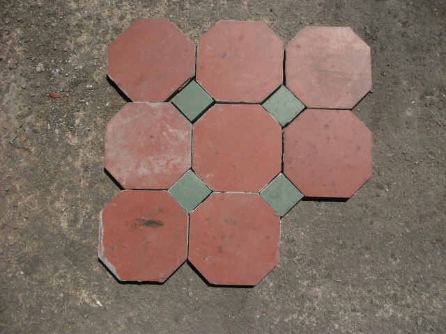 hexagonal quarry tiles