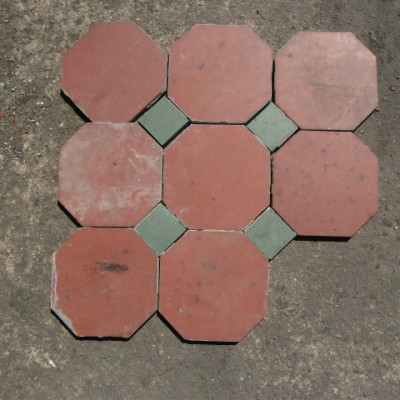 hexagonal quarry tiles