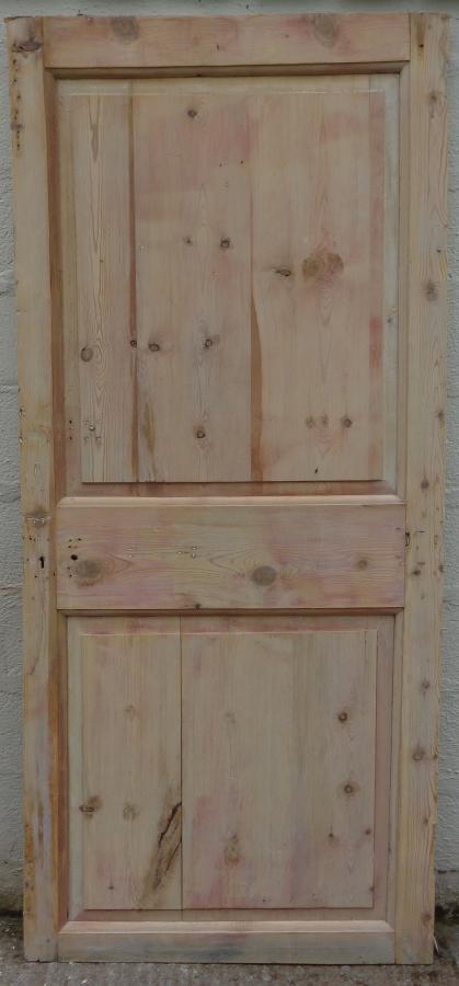Georgian 2 panel pine door.